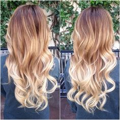 candice alice hair - ombre - brown to light blonde Really love this and want my hair to be like it