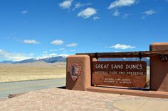 Mille Fiori Favoriti: The Great Sand Dunes National Park, Part One