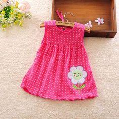 Princess Girls Dress Cotton