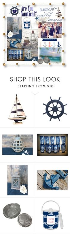 """Are you nautical?"" by summer-marin ❤ liked on Polyvore featuring interior, interiors, interior design, home, home decor, interior decorating and WALL"
