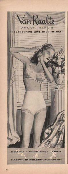 1941 ad, Van Raalte