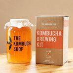 Kombucha Brewing Kit + Extra Organic Tea Blend