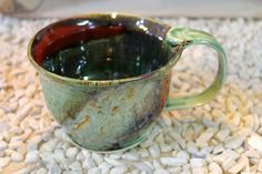 Brad Walker's handcrafted mugs and pottery are a local favorite! // www.facebook.com/pages/Walker-Brad-Pottery/167060836641829