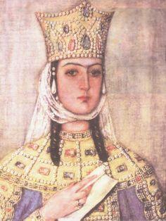 10 Mulheres Guerreiras Imbatíveis. 1º - Tamara I (Rainha da Geórgia).