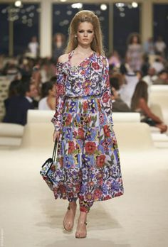 Chanel Pre Summer 15 | Floral | Sixties