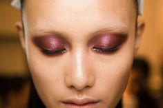 Gucci Fall 2013 Beauty: Come Stare at This Stunning Version of the Smoky Eye.
