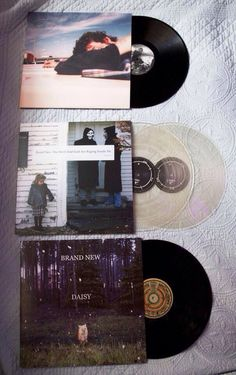 I very much need to get Brand New's albums on vinyl