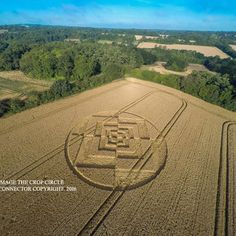 Crop circle photo by Cropcircleconnector