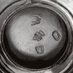 Sold Price: A SET OF FOUR GEORGE II SILVER CIRCULAR SALTS, PAUL DE LAMERIE, LONDON, 1729 - April 4, 0110 12:00 PM EDT April 4th, Salts, Makers Mark, It Cast, London, Silver, London England, Salt, Money
