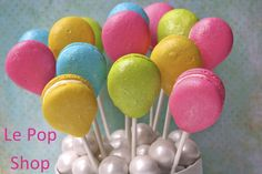 """Macaron Balloons"" original creation by Le Pop Shop https://www.facebook.com/LePopShop"
