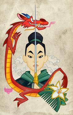 Mulan Tatoo