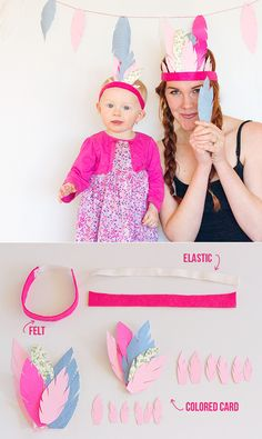 DIY FEATHER CROWN AND GARLAND  http://www.jexshop.com/