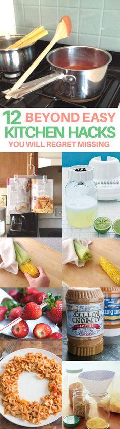 kitchen tips & tricks, cooking tips & tricks, life hacks every girl should know, kitchen hacks,