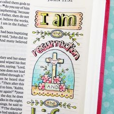 Four Easter Verses for Bible Journaling and New Bookmarks...