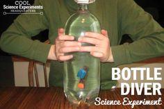 Bottle Diver Science Experiment