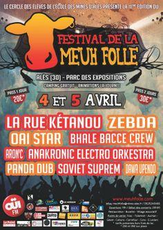 Festival de la Meuh Folle, Méjannes-lès-Alès (30340), Languedoc-Roussillon