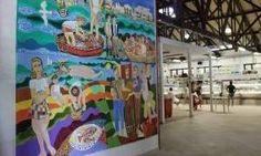 Mercado Público ganha obras de arte com história de Joinville