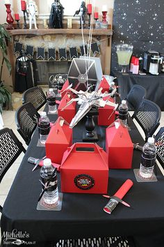 Star Wars Party | Liam's Sith Birthday Party - Michelle's Party Plan-It