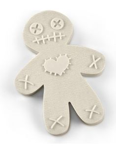Fred & Friends CURSED COOKIES Voodoo Doll Cookie Cutter/Stamper ❤ Fred