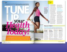 Tune Up Your Health Today from Oxygen's August 2011 issue! Click through for you sneak peek!