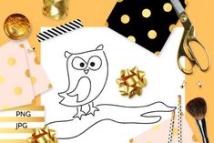 Owl Branch Coloring (Graphic) by Revidevi · Creative Fabrica Digital Stamps, Gift Cards, Making Ideas, Coloring Pages, Craft Projects, How To Draw Hands, Card Making, Owl, Drawings