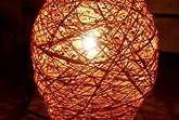 Come decorare una lampada con lo spago - Fai da Te Mania