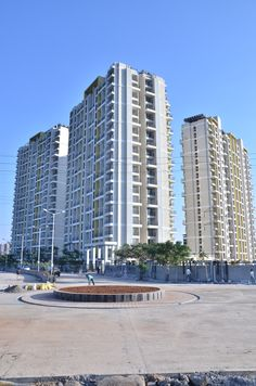 Wide view of #GuruAtman Towers. We have 7 towers with 19 storeys.