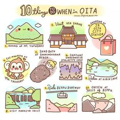 Japan: 10 Things To Do When in Oita.