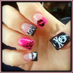 Super Sexy Nail Design Ideas 2014 | See more nail designs at http://www.nailsss.com/french-nails/2/