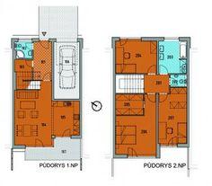 Dům None Lohenická - Praha za 5 500 000 Kč New Homes, Floor Plans, House, Home, Homes, Floor Plan Drawing, Houses, House Floor Plans
