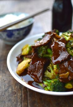 Beef with Broccoli is one of the most common Chinese dishes and found on Chinese restaurant and take-out menus across the country.