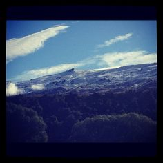 Photo by theskyeisclear  #summer#winter wonderland#snow#sun #cardrona