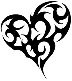 Heart tattoo tattoo tabatha tribal tattoo designs, cool tribal tattoos, t. Tribal Tattoo Designs, Tribal Heart Tattoos, Tribal Tattoos For Women, Heart Tattoo Designs, Tattoo Designs For Women, Heart Designs, Tribal Women, Cross Tattoos, Stammestattoo Designs