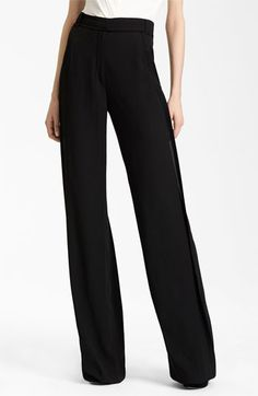 Donna Karan Collection Wide Leg Trousers | Nordstrom
