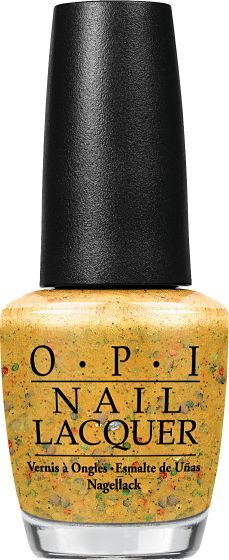 OPI Nail Lacquer - Pineapples Have Peelings Too! - #NLH76