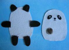 how to make a simple panda