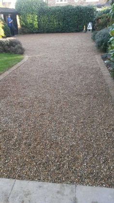 DM Driveways Were Tasked To Rectify A Tired And Old Driveway Which Had Been  Previously Incorrectly. Cobblestone PatioGravel DrivewayConcrete  DrivewaysGarden ...
