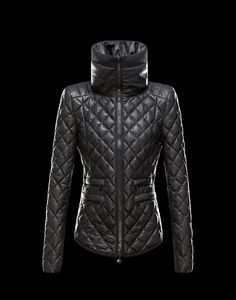 Leather outerwear Women - Outerwear Women on Moncler Online Store