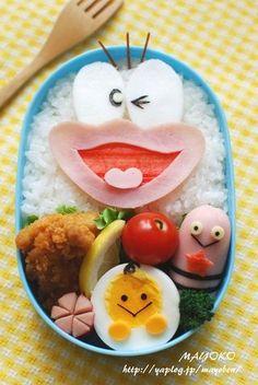Oba-Q bento | Cute Food | Pinterest