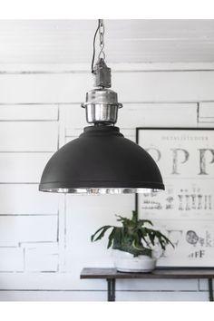 PR Home Taklampa 52 cm Manchester Silver/vit, Svart/silver - Taklampor   Ellos Mobile