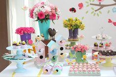 mesa de doces jardim encantado - Pesquisa Google