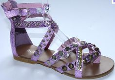Suede Fringe Flat Sandals | flat-sandals
