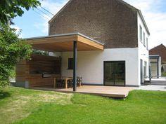 Terrasse couverte- 25 idées tendance sur l\'auvent en bois et la ...