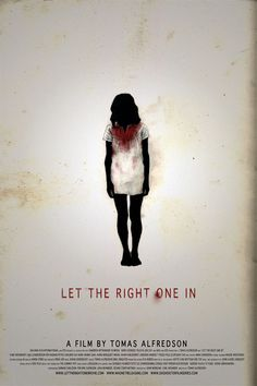 Let the Right One In - poster by Charlotte Jackson