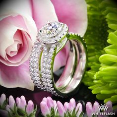 """Brighter than all the stars on broadway combined , the """"Park Avenue"""" Diamond Engagement Ring is truly a powerhouse."""