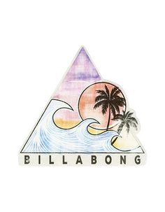BILLABONG Vibe With The Tide Sticker Multi