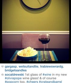 Olivia Pope has single-handedly boosted the sale of these Crate & Barrel Camille red wine glasses