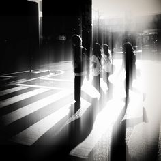 Street Photography - Always look for great light :-)