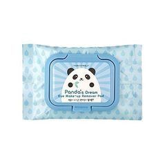 [TONYMOLY] Panda's Dream (Panda's Dream Eye make up Remover Pad 40ea)... (265 HRK) ❤ liked on Polyvore featuring beauty products and skincare