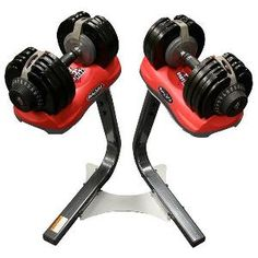 adjustable dumbells are great for fast transition